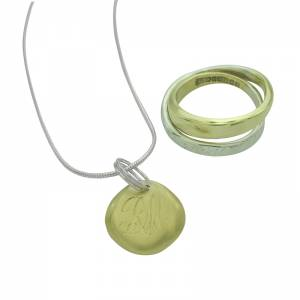 Revamped Ring Pendant For Jenny's Mum
