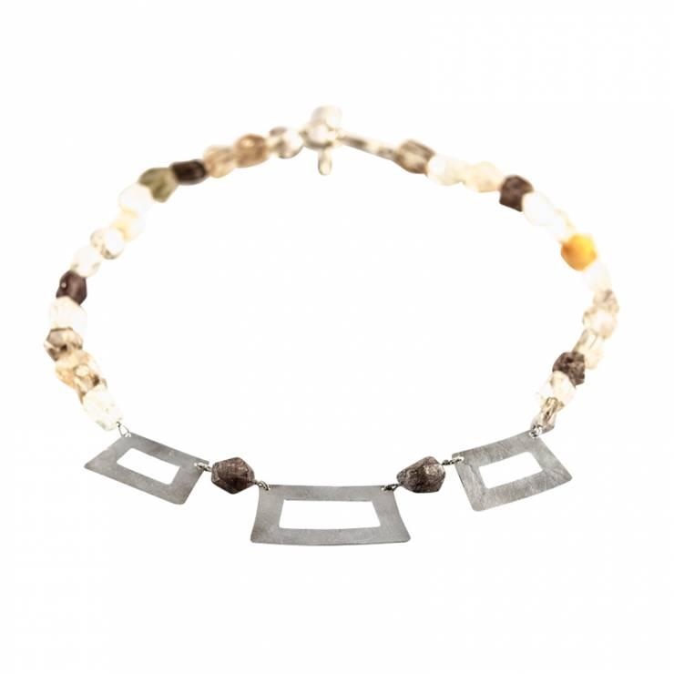Frame Rutile Quartz Necklace