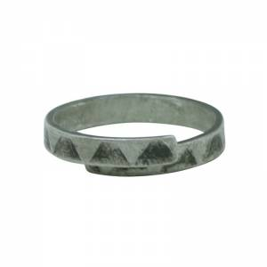 Triangle Rollered Ring