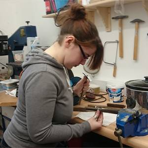 Hen Party Jewellery Class At WASPS Studios