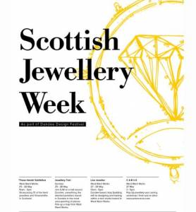 Scottish Jewellery Week - As Part Of Dundee Design Festival