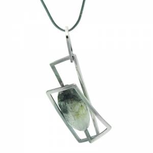 Component Tourmalinated Quartz Pendant