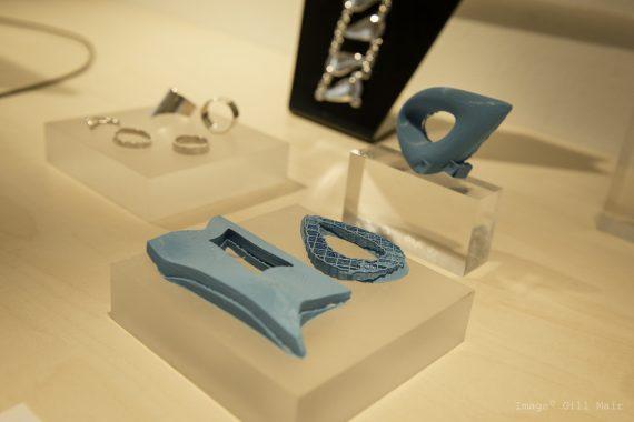 3D Printed Jewellery On Display