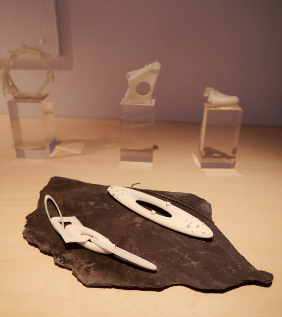 3D Printed Jewellery On Display