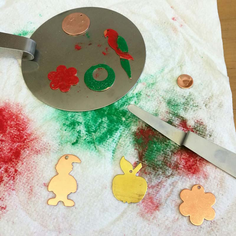 Design And Make Your Own Enamelled Pendant - Group Class