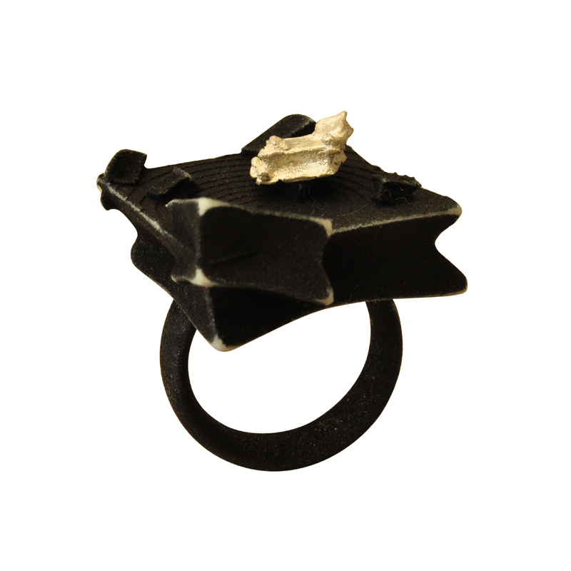 Gothic Cube Ring