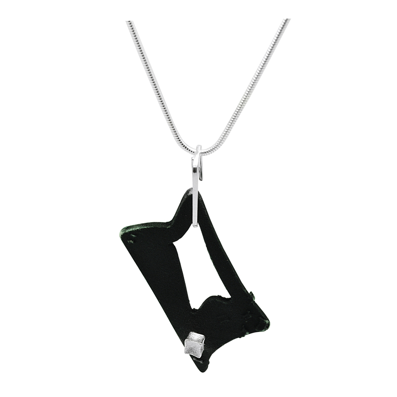 Gothic Rectangle Drop Pendant