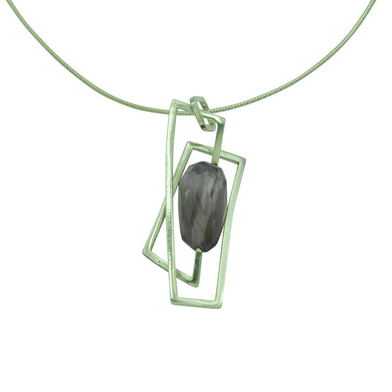 large component amethyst pendant