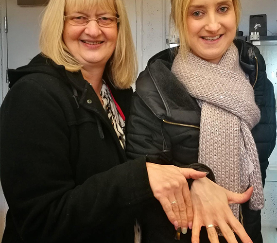 Mother And Daughter - Make Your Own Rings