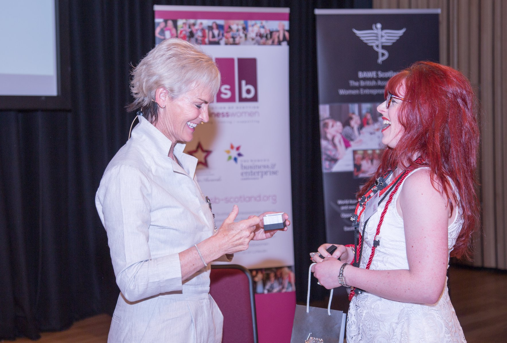 Genna Design meets Judy Murray