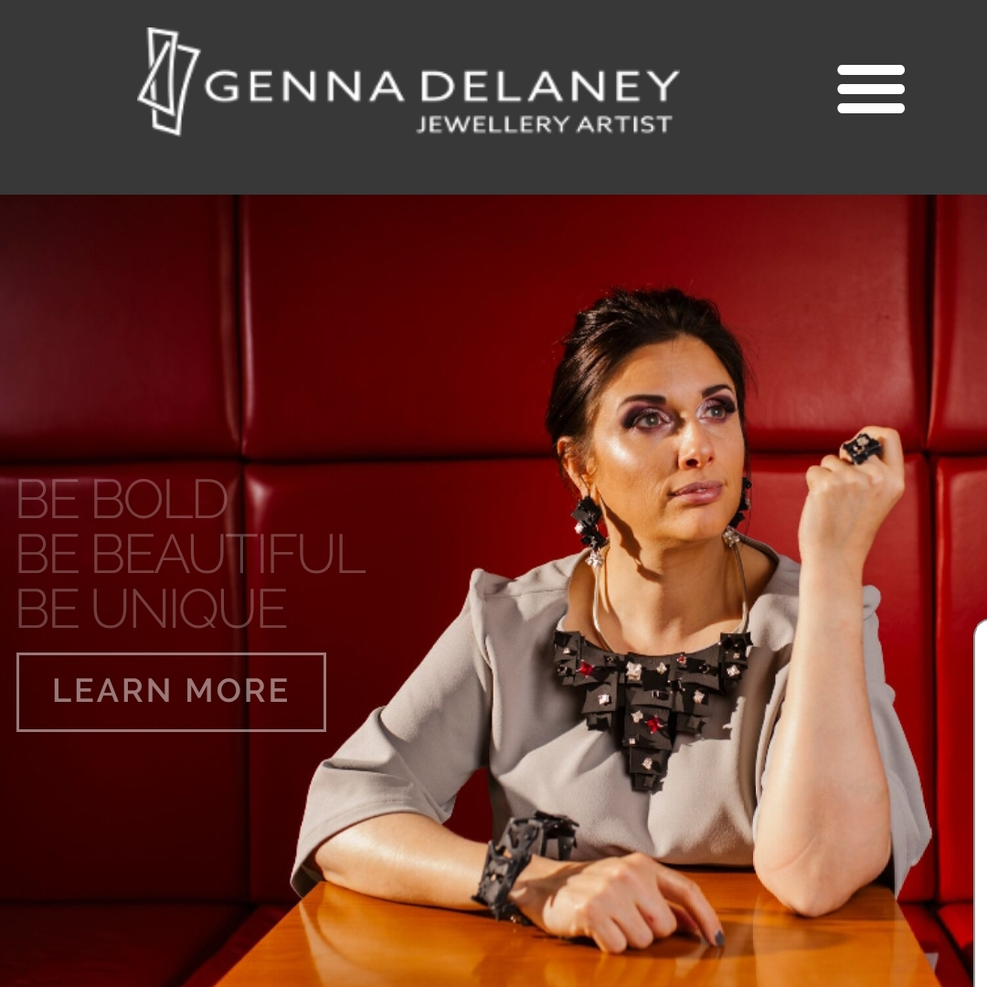 Rebranding from Genna Design to Genna Delaney Jewellery Artist