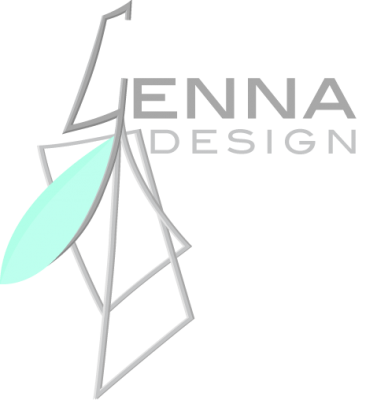 Genna Design logo colour