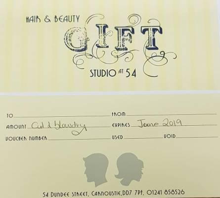studio 54 gift vouchers