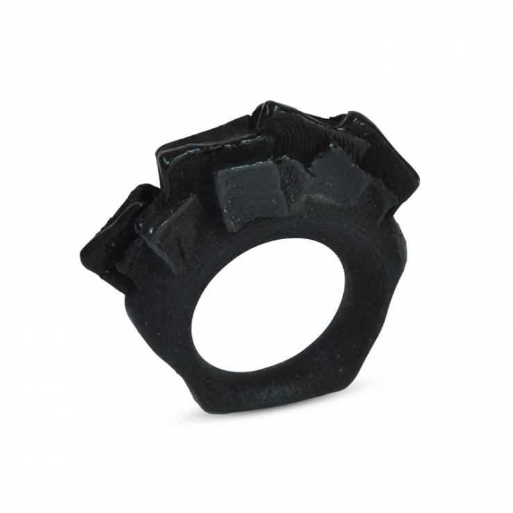 black 3Drock formation ring