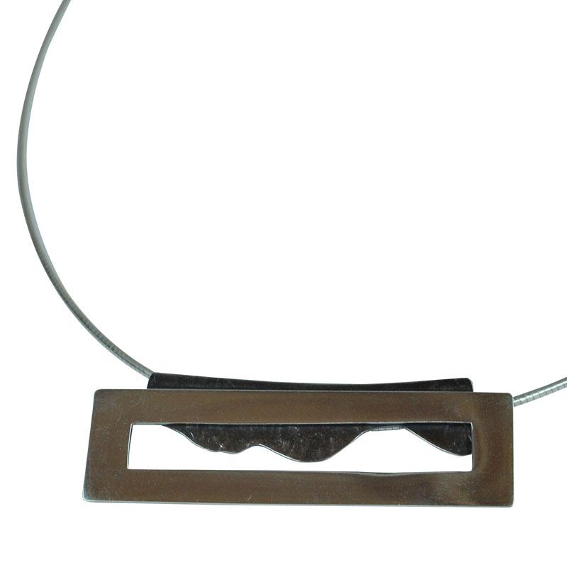 frame landscape pendant