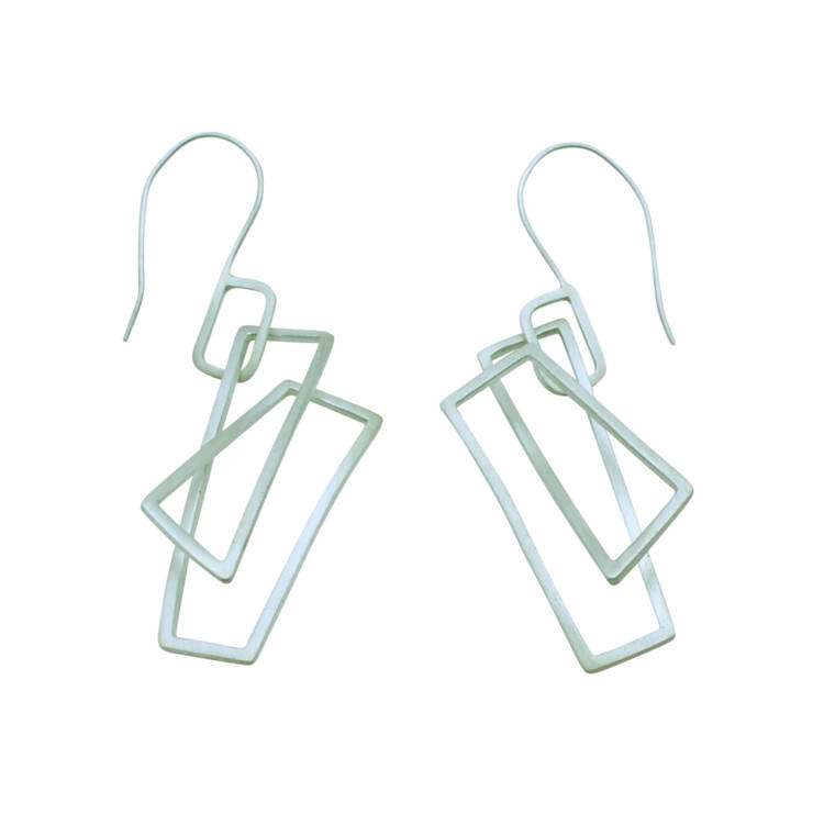 large component earrings