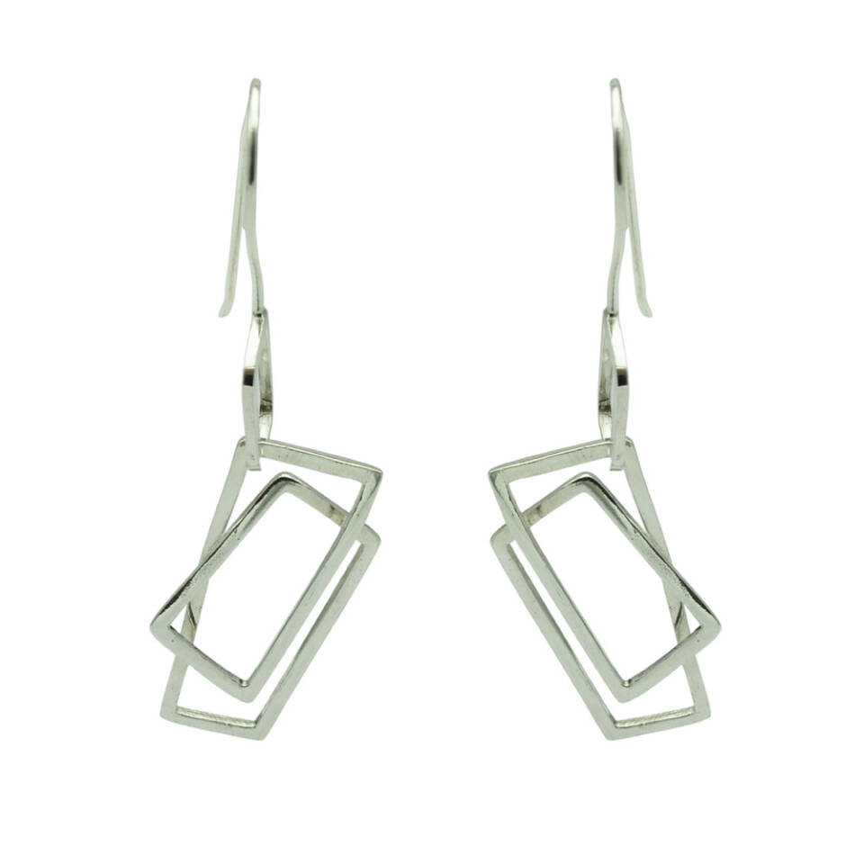 small component earrings